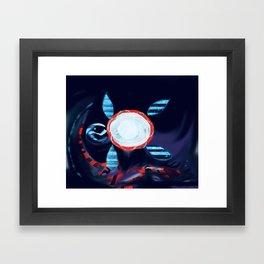 Bro Torta Luna Framed Art Print