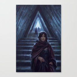 Triangle Hall Canvas Print