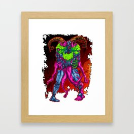 METAL MUTANT 3 Framed Art Print