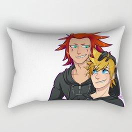 Axel and Roxas Rectangular Pillow