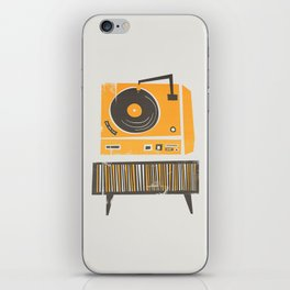 Vinyl Deck iPhone Skin