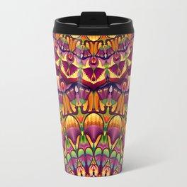 Ankh & Lotus Mandala Travel Mug
