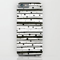Dots and Lines Slim Case iPhone 6s