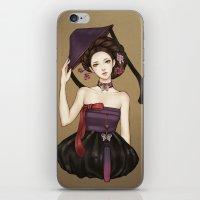 korean iPhone & iPod Skins featuring Korean by Nara Navy