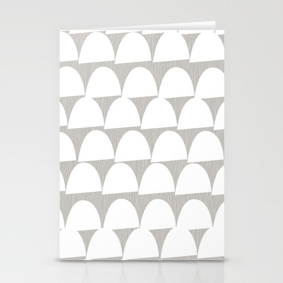 Shroom reverse Stationery Cards
