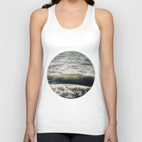 waves Tank Tops featuring Waves by josemanuelerre