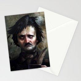"""The Raven"" inspiration Stationery Cards"