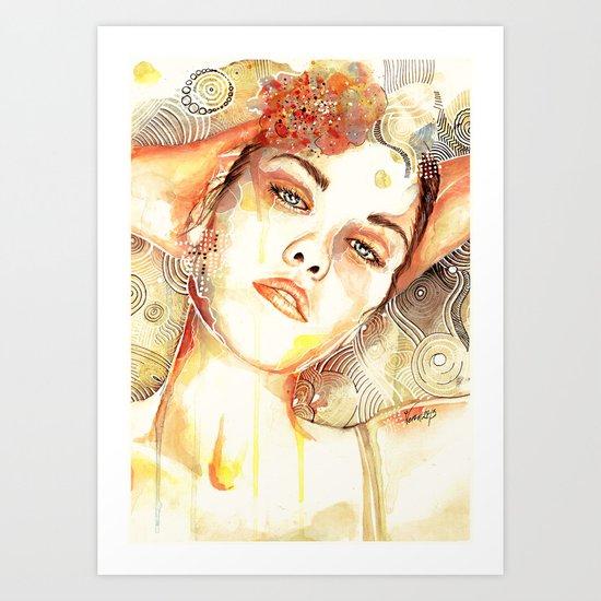 Abrupt Clarity Art Print