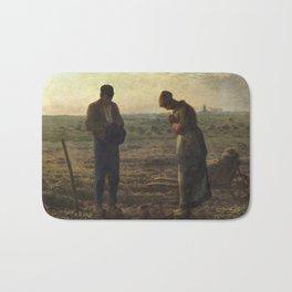 The Angelus by Jean Francois Millet Bath Mat