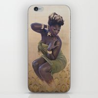 secret life iPhone & iPod Skins featuring The secret life of plants by SaraGolish