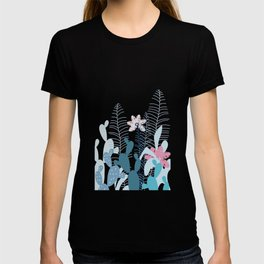 Blue Cacti Garden #Society6 #buyart #decor T-shirt