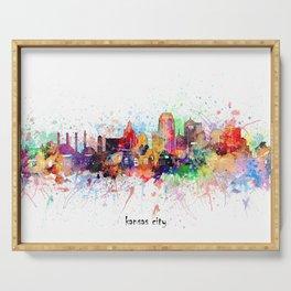 kansas city artistic Serving Tray