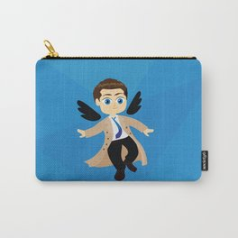 Angel Castiel Supernatural Carry-All Pouch