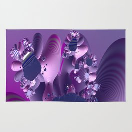 Abstract cactus blooming Rug