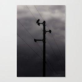 Cloudy Nights Canvas Print