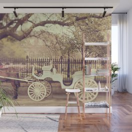 New Orleans Carriage Ride Wall Mural