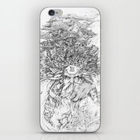 hell iPhone & iPod Skins featuring Hell  by Tim Lord Art