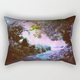 Enchanted Garden Path Rectangular Pillow