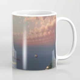 Beautiful Fantasy Town Coffee Mug