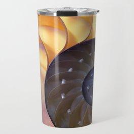 Macro Seashell Travel Mug