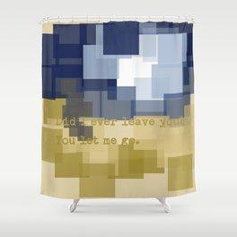 Expectation Shower Curtain