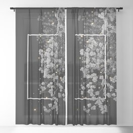 fugacious Sheer Curtain