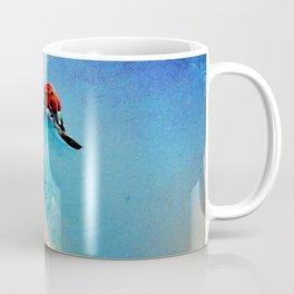 Flirt - Ladybug On DandelionFlirt - DETAIL Coffee Mug