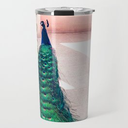 The Handsome Peacock Travel Mug