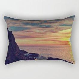Californian Sunset - night Rectangular Pillow