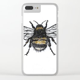 Bee Clear iPhone Case