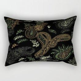 Cactus Garden Paisley 1 Rectangular Pillow