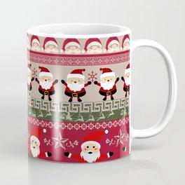Santa Claus Ugly Sweater Coffee Mug
