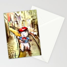 A Guinea Pig in Paris Stationery Cards