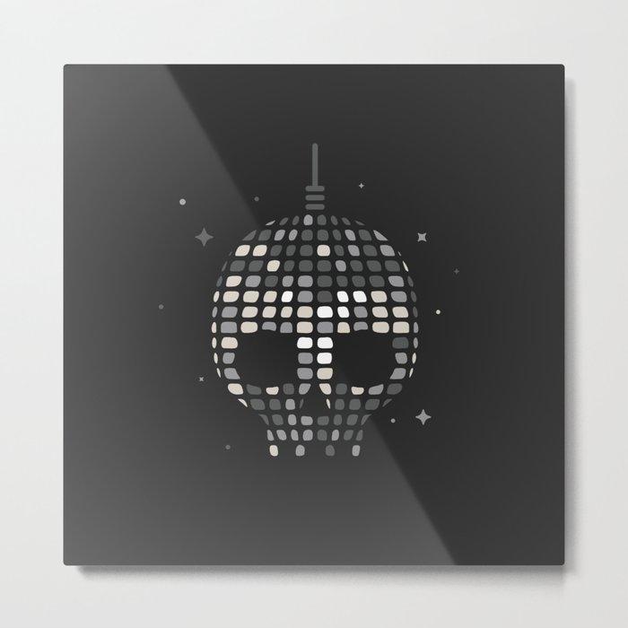 Death Disco Metal Print