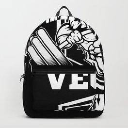 Vegan Power Lifter Gorilla Gift Backpack