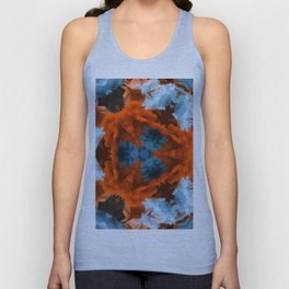 abstract atmosphere kaleidoscope 9 Unisex Tank Top