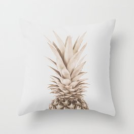Pineapple a Day Throw Pillow