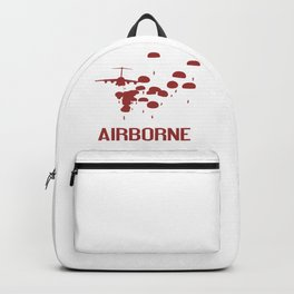 Airborne Jump (Airborne Red) Backpack