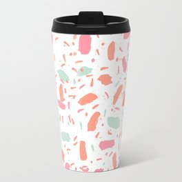Bessie - abstract minimal modern gender neutral trendy painting dorm college office decor Travel Mug