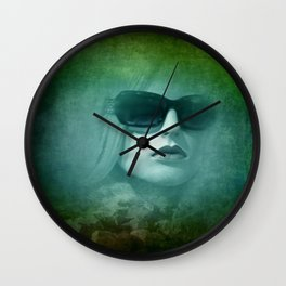 emerging from the shadow -3- Wall Clock