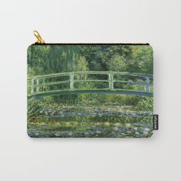 Claude Monet's Water Lilies and Japanese Bridge Carry-All Pouch