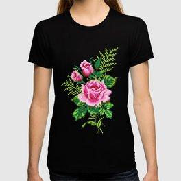 Pixel Rose T-shirt