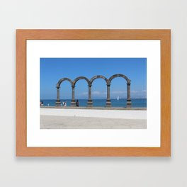 Malecon Framed Art Print