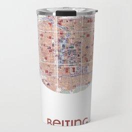 BEIJING CHINA - city poster - city map poster print Travel Mug