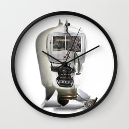 Tie down the story Wall Clock