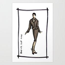 Best & Co Suit Art Print
