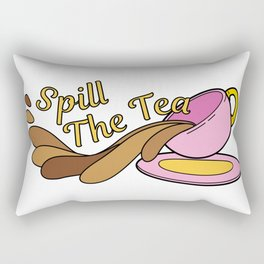 Spill The Tea Rectangular Pillow