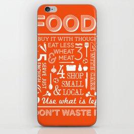 Food - tomato iPhone Skin