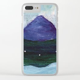 Dreamscape 29 Clear iPhone Case