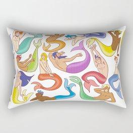Mermen Rectangular Pillow